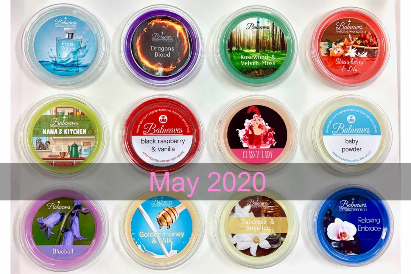 May 2020 Wax Melt Subscription Box