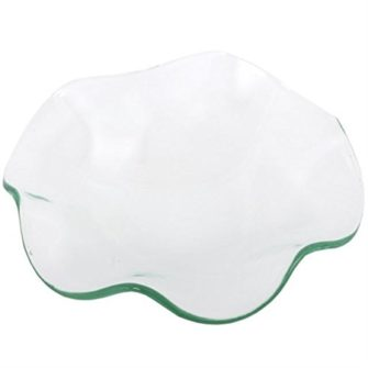 replacement wavy glass dish