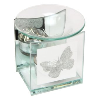 Glass Butterfly Wax Melter