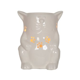 Ceramic Cat Electric Wax Melter