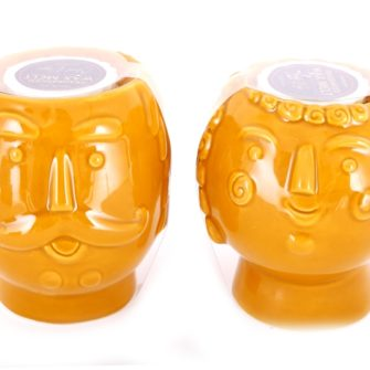 Mr & Mrs Mustard Tealight Wax Melter