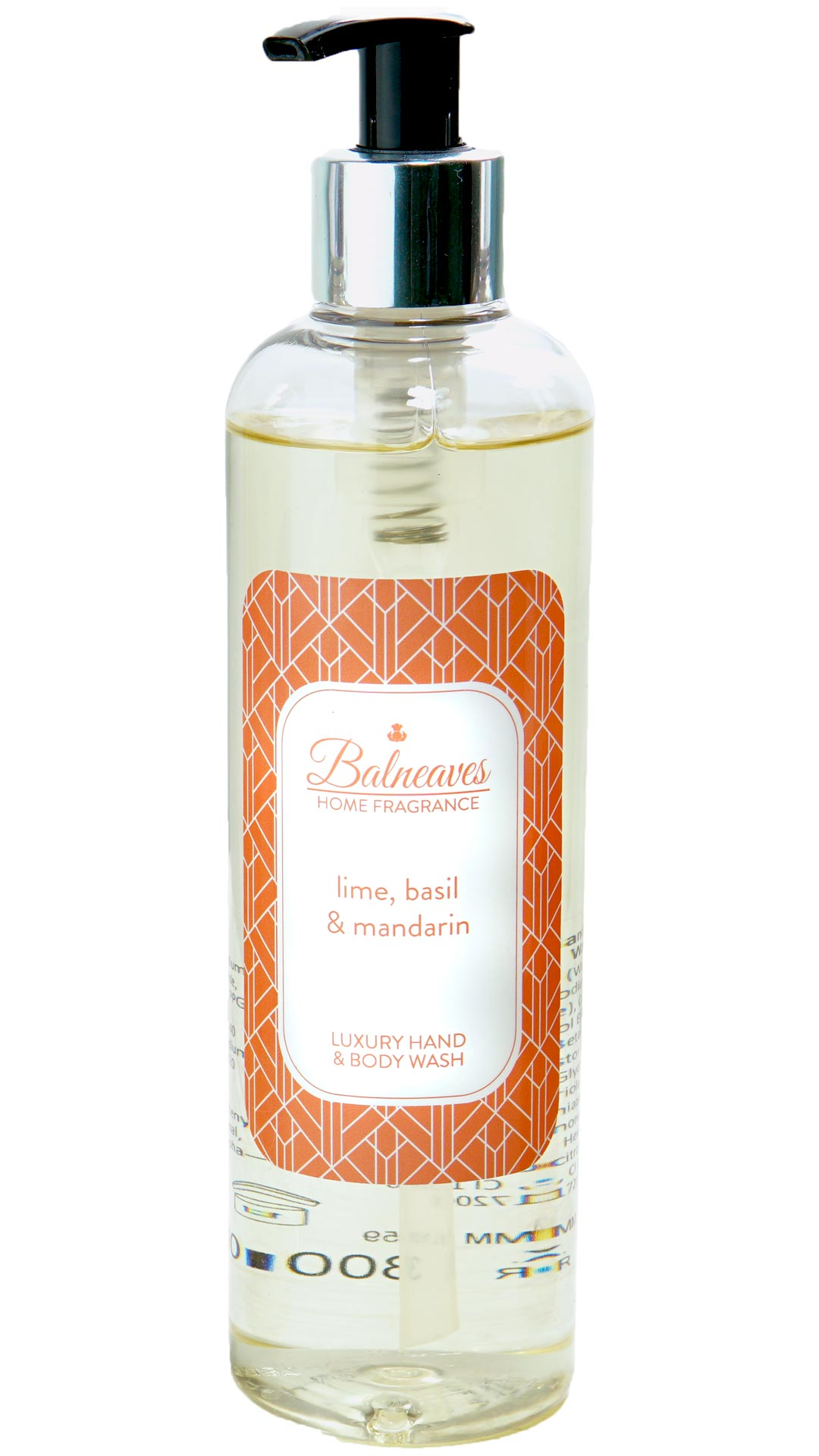 Lime, Basil & Mandarin Luxury Hand & Body Wash