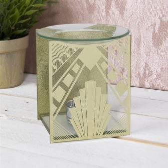 Gold Art Deco Wax Melter